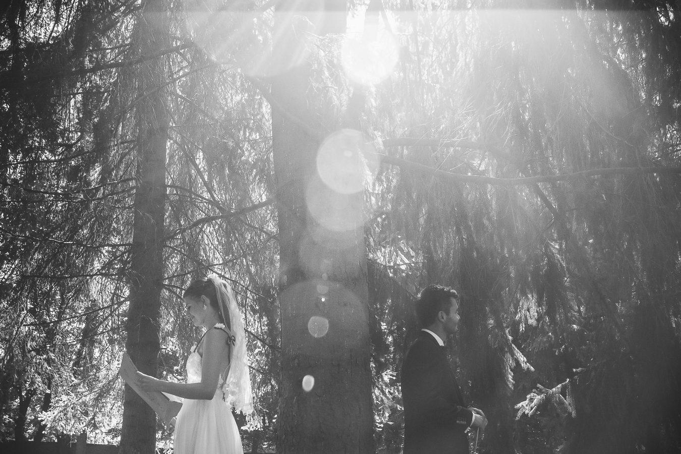 First look Destination wedding