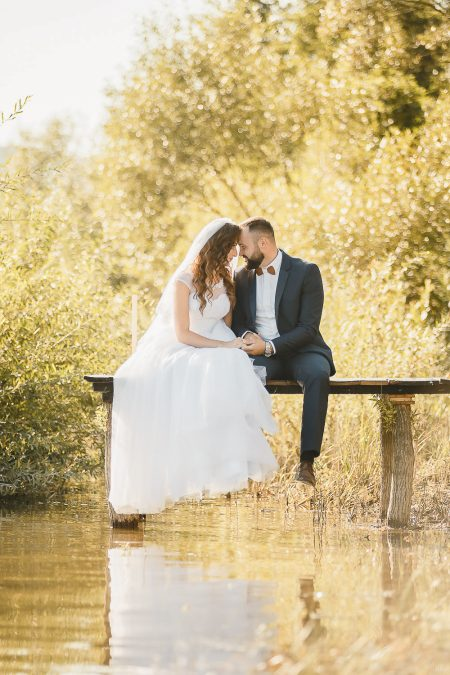 An intimate destination wedding