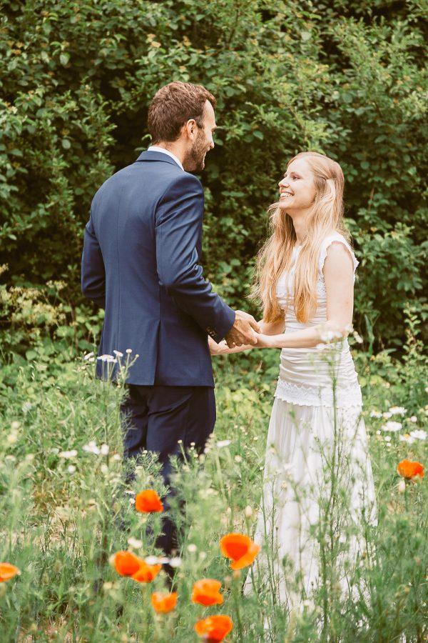 First look Destination wedding at Bojnice