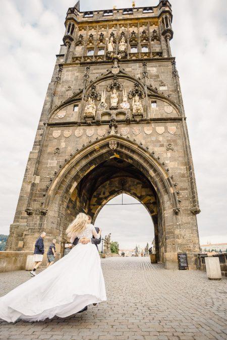 Prague wedding photo shoot