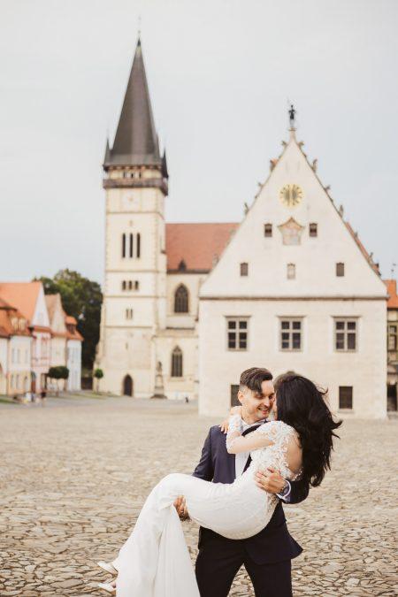 Destination wedding in Bardejov