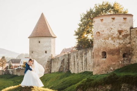 Beautiful destination wedding in Bardejov, Slovakia