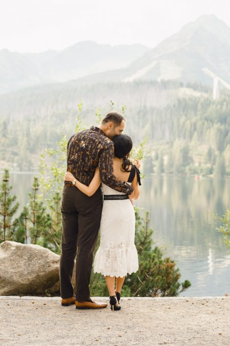 Engagement photoshoot in High Tatras
