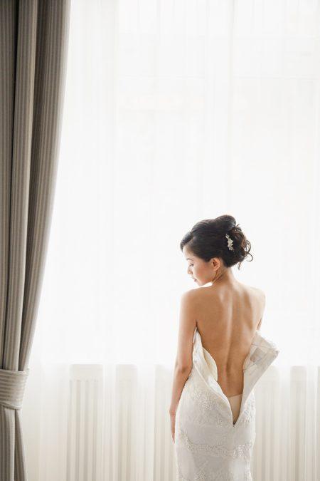 Destination Wedding boudoir